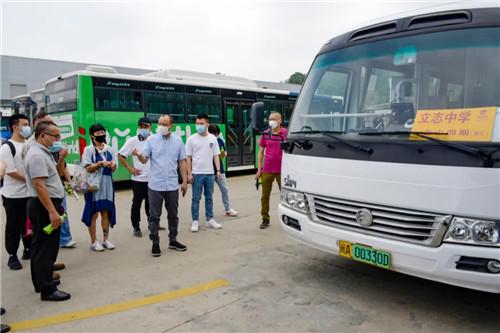 新一批学生复课在即,定制公交再升级!